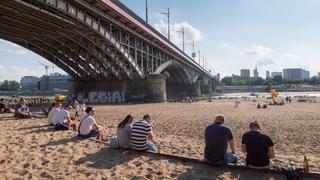 """Warszawskie plaże docenione przez dziennik """"The Guardian"""""""
