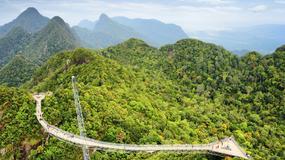 Langkawi Sky Bridge - most wiszący pod niebem Malezji