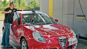 Wiosenne mycie auta