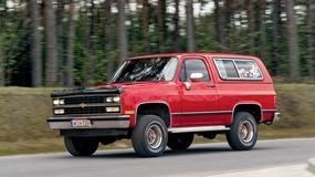 Chevrolet Blazer K5 - gatunek zagrożony