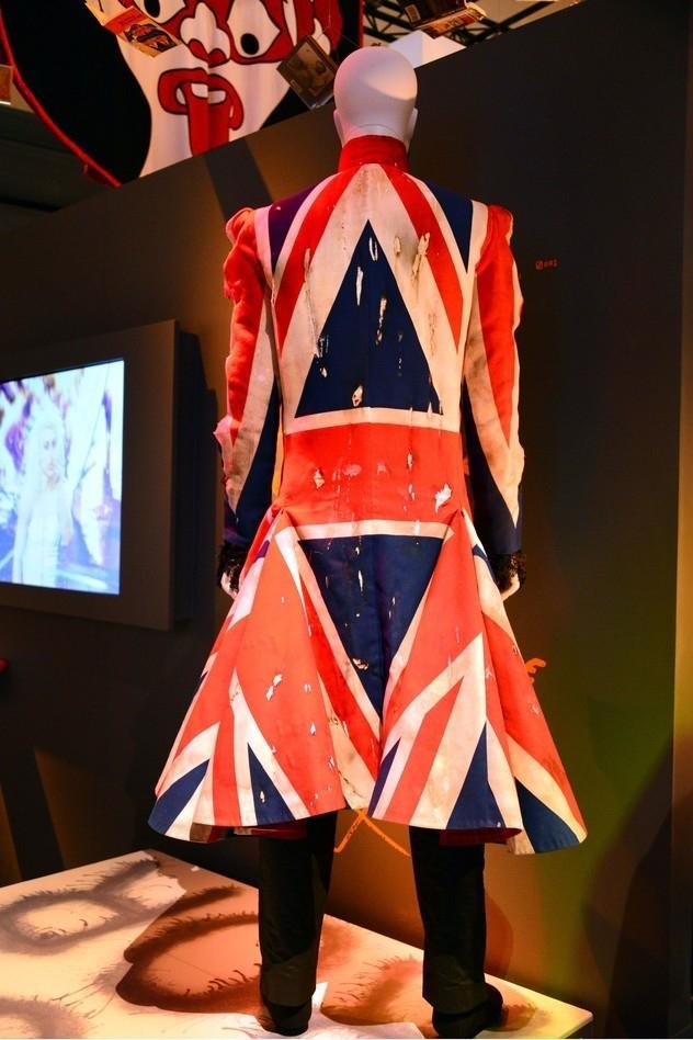 Płaszcz Uniona Jacka, pokryty flagą Wielkiej Brytanii