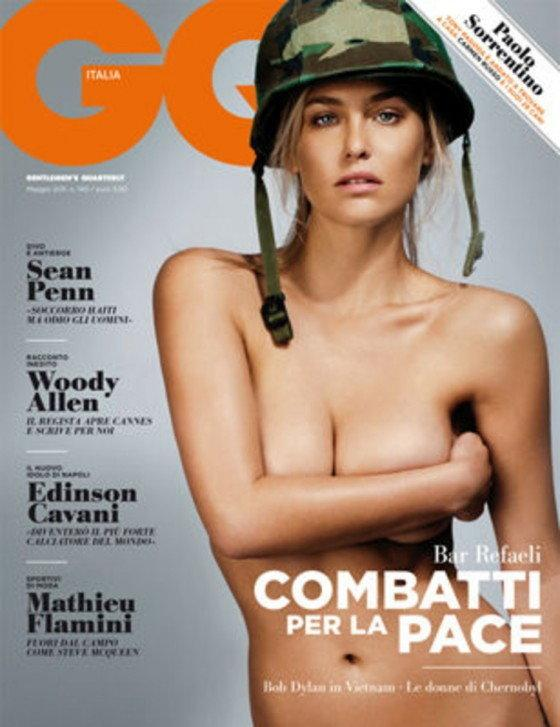 Bar Rafaeli w GQ Italy