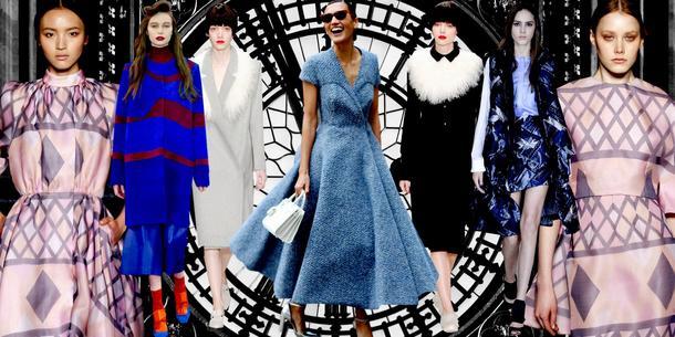 Pocztówka z London Fashion Week - najciekawsze sukienki, płaszcze, dodatki, makijaż