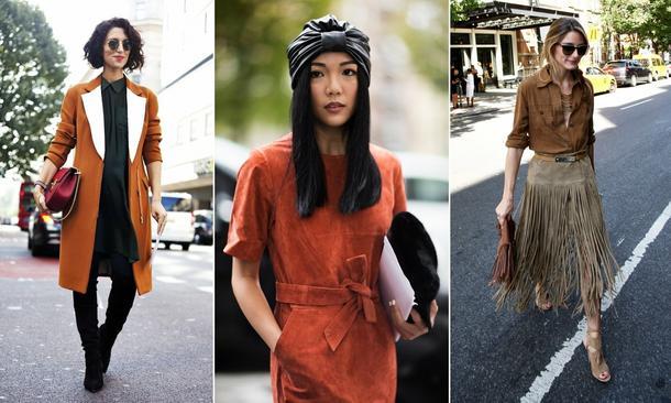 Moda w kolorze karmelu