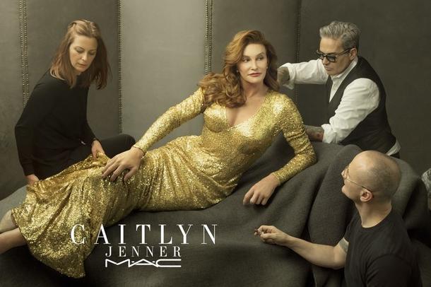 Caitlyn Jenner dla MAC Cosmetics