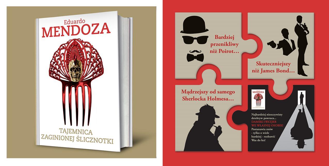 Tajemnica zaginionej ślicznotki - Eduardo Mendoza / materiały prasowe
