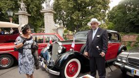 Klasyczne Mercedesy w Wilanowie
