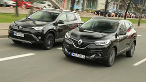 Toyota RAV4 kontra Renault Kadjar - Co oferuą SUV-y za 120 tys. zł?