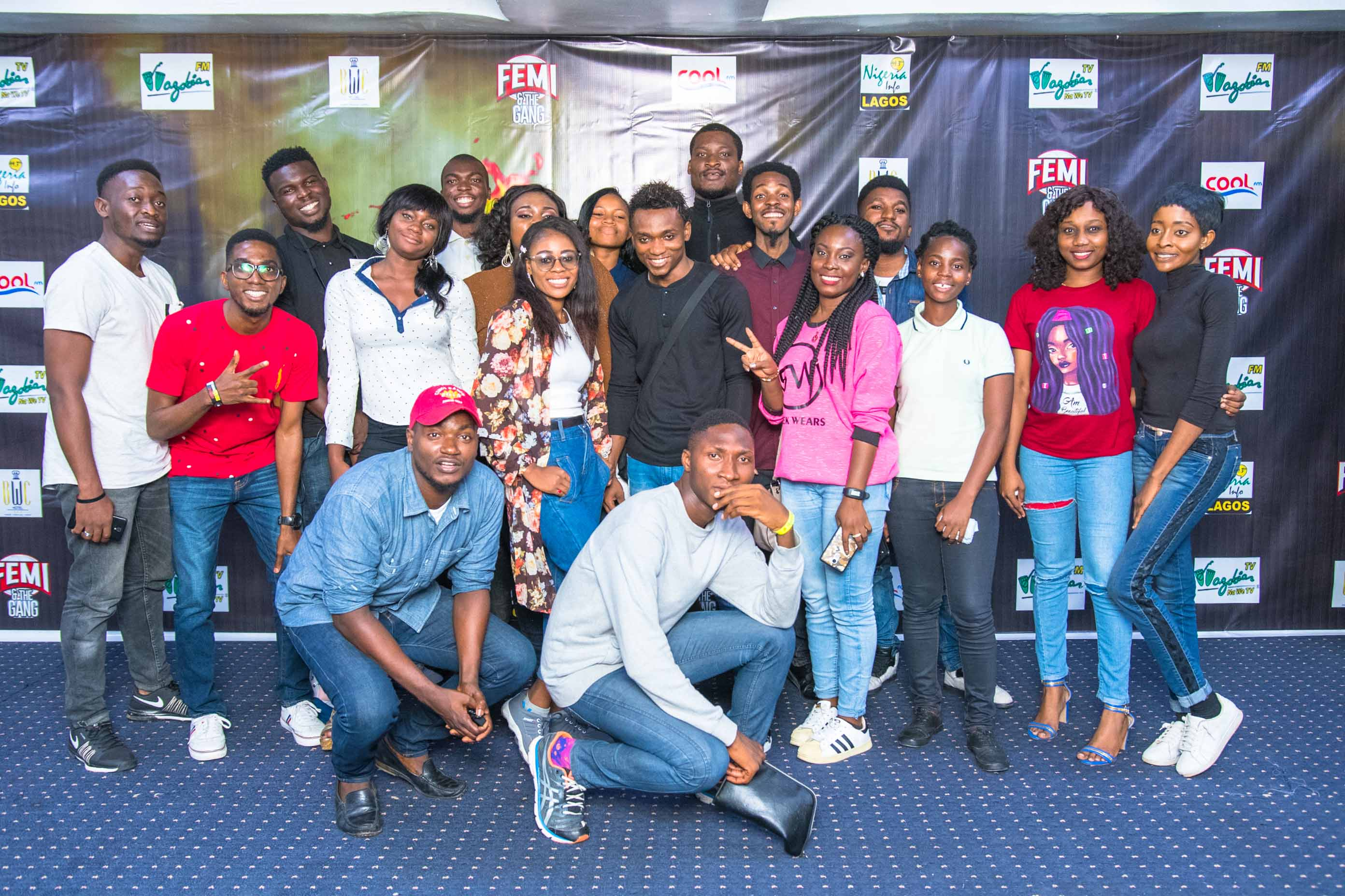 Femi & The Gang unveil the 30 intern to feature in the Fired! Reality TV show