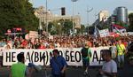 """PROTEST """"NEĆE PROĆI"""" Lazović: Sve nas je više, grad je naš"""