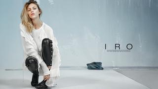 Naturalna Anja Rubik w kampanii IRO