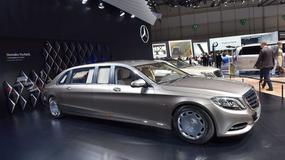 Godny wozić zacnych VIP-ów - Mercedes-Maybach S600 Pullman