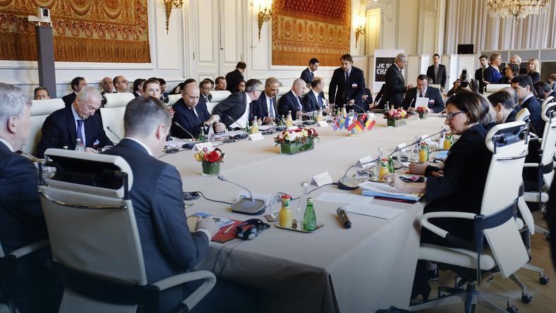 Spotkanie ministrów w Paryżu