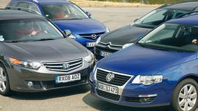 Honda Accord, Mazda 6 i Citroen C5 kontra VW Passat - Porównanie 4 kombi klasy średniej