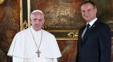 Wiadomo o czym Duda rozmawiał z papieżem poza kamerami