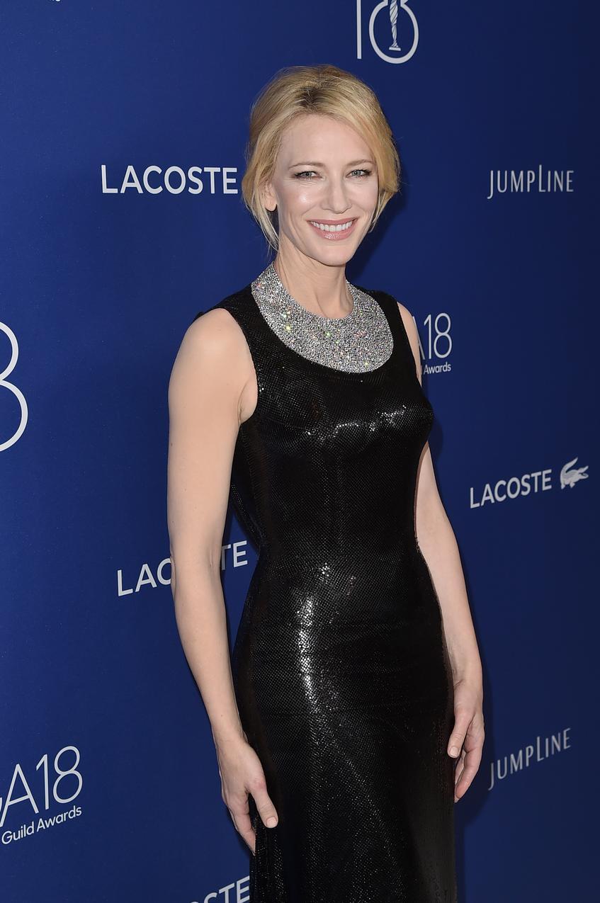 Cate Blanchett, aktorka na gali Costume Designers Guild Awards