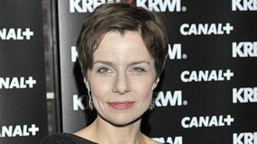 Agata Kulesza obcięła włosy na krótko!