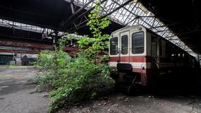 Opuszczone Warsztaty Naprawcze Górnośląskich Kolei Wąskotorowych w Bytomiu
