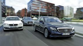 Mercedes wyhamował konkurencję - porównanie nowej klasy E z Audi A6 i BMW serii 5