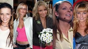 Agnieszka Włodarczyk przeszła niewiarygodną metamorfozę. Jak zmieniała się przez lata?