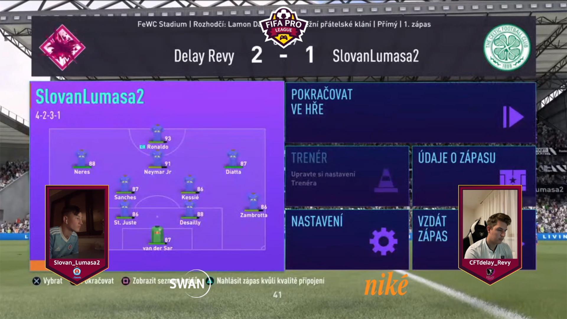 Revy získal cenné tri body.