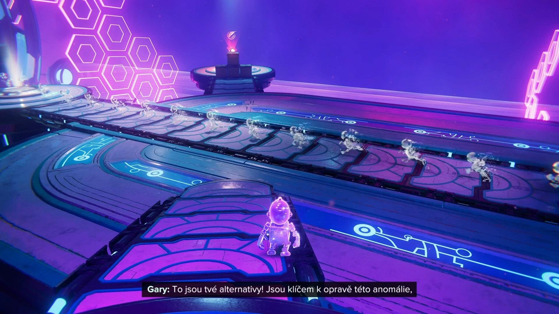 Ak Clankovi pomôžeme vyriešiť hlavolamy, dokáže uzavrieť dimenzionálne trhliny.