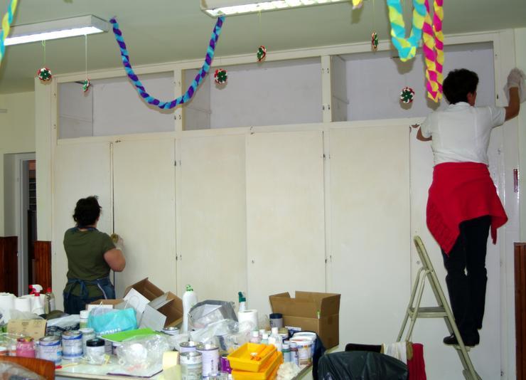 Így nézett ki a terem, mielőtt renoválták