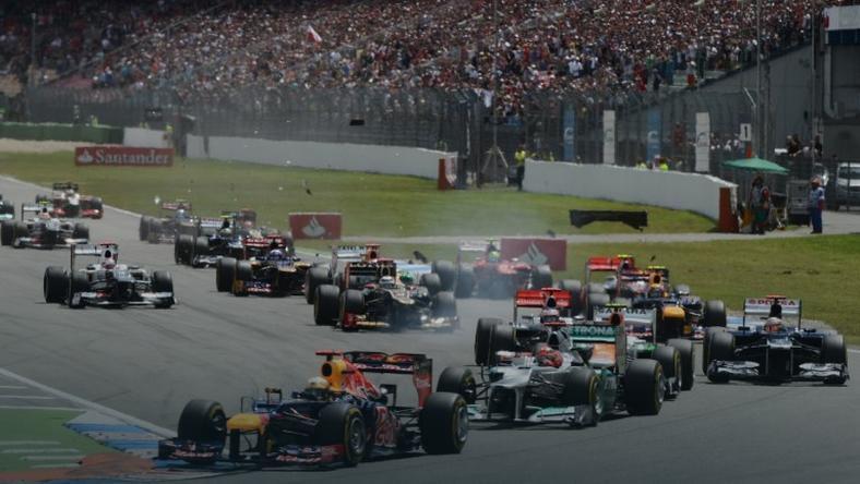 GP Niemiec na torze Hockenheim