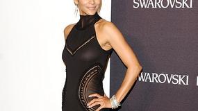 Halle Berry w obcisłej, czarnej minisukience