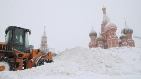 Rekordowe opady śniegu w Moskwie