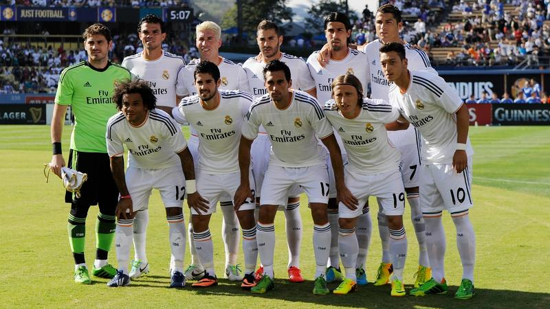 Real Madrid Zapasy
