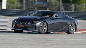 Lexus LC 500h - Bliżej kierowcy