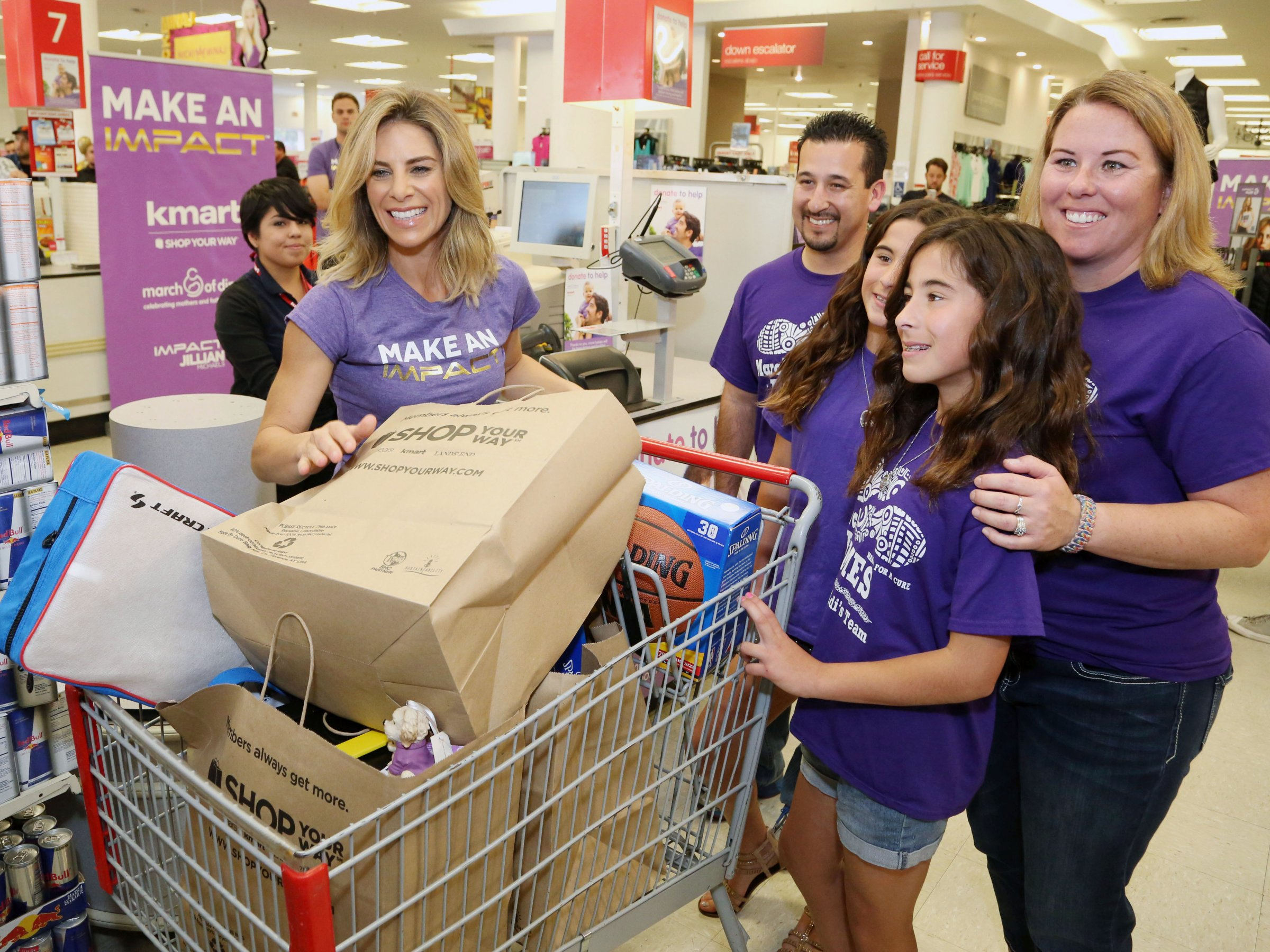 Jillian Michaels community service