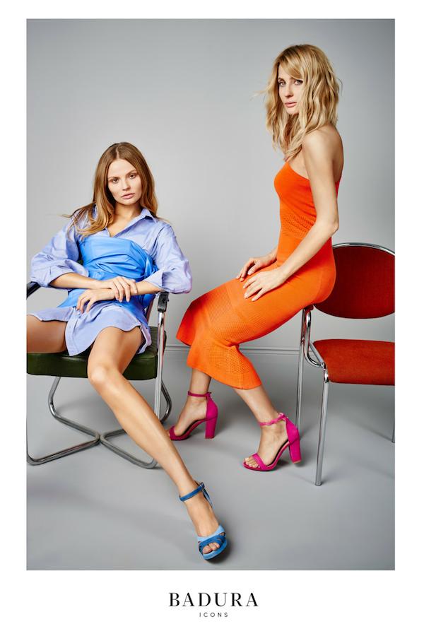 Aneta Kręglicka i Magdalena Frąckowiak w kampanii Badura