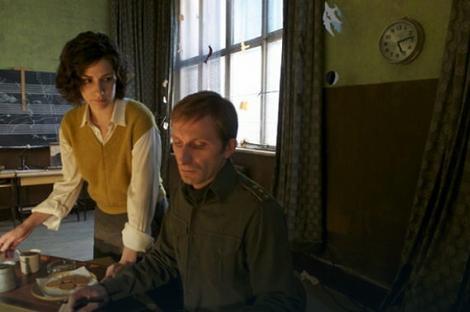 Prva slika iz Andželininog filma: Zana Marjanović i Goran Kostić na snimanju u Budimpešti