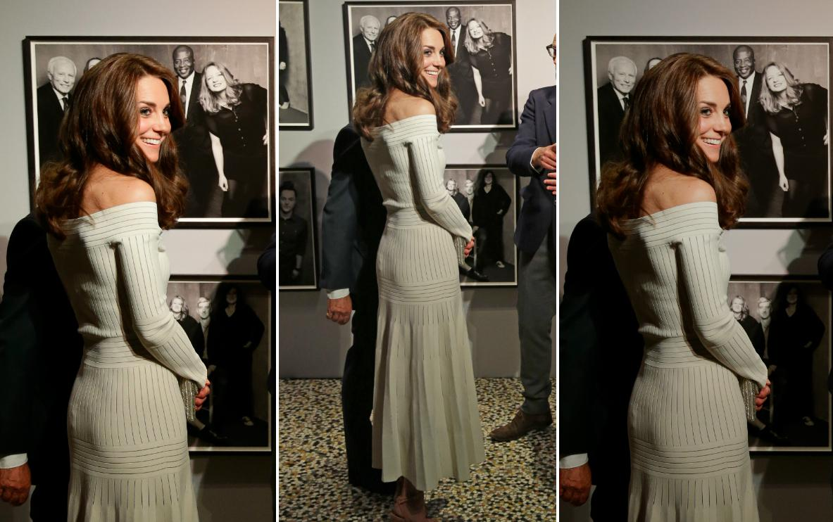 Kate Middleton w sukience od Barbary Casasoli