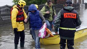 Ewakuacja zagrożonych mieszkańców
