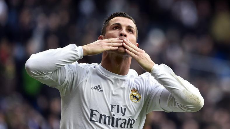 Ronaldo góllal ünnepelt a Roma ellen / Fotó: AFP