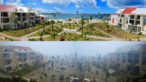 Wyspa Saint-Martin sześć miesięcy po niszczycielskim huraganie Irma
