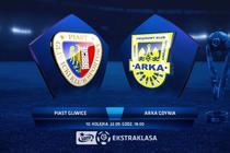 Piast - Arka (0:1): zobacz skrót meczu