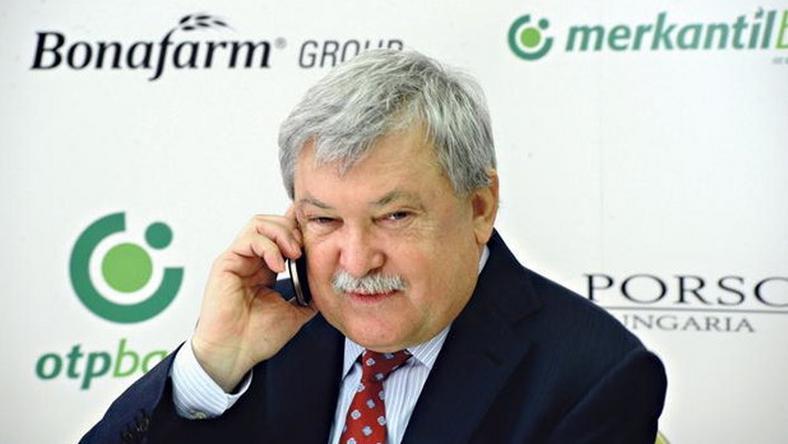 Csányi Sándor szeretné, ha Infantino lenne az elnök /Fotó: MTI-Lendvai Péter