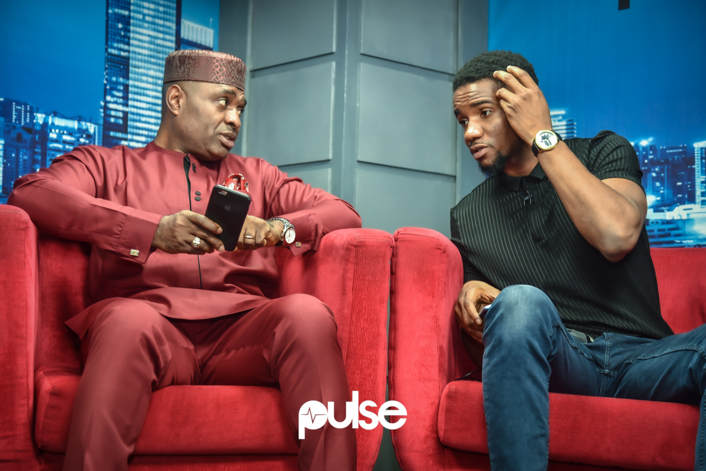 Pulse played host to Kenneth Okonkwo and Swanky JKA (Who plays Andy's son) in the sequel and we got to talk about the journey to the remake of one of the greatest movies to have come out of Nollywood. [PULSE]