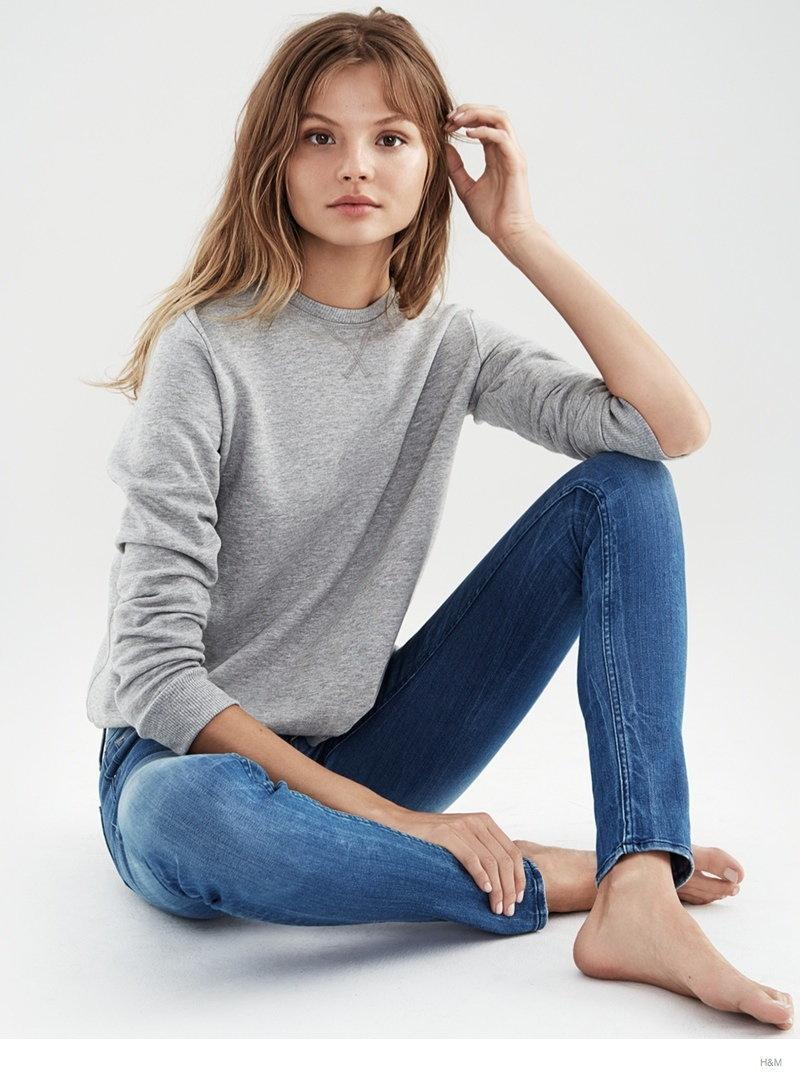 Magda Frąckowiak dla H&M Denim
