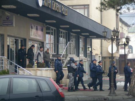"""Policija je juče pretresla hotel """"Bijela rada"""" u Bijelom Polju"""