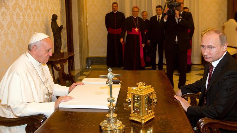 VATICAN PUTIN POPE DIPLOMACY