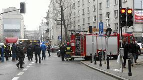 Wybuch w centrum Warszawy