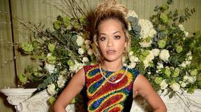 Kolorowa Rita Ora i inne gwiazdy na imprezie modowej