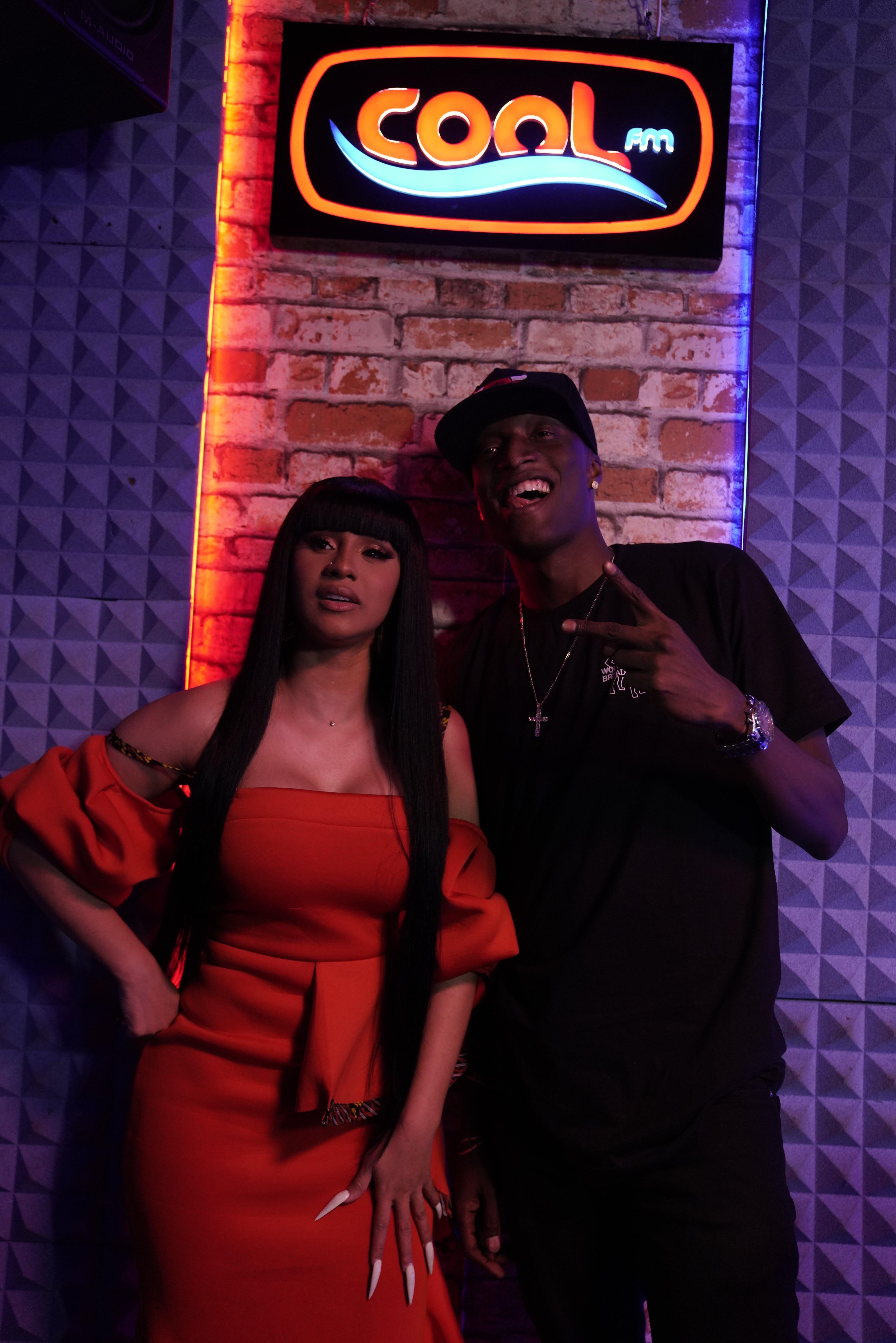Cool FM hosts Cardi B in first ever live radio interview in Nigeria