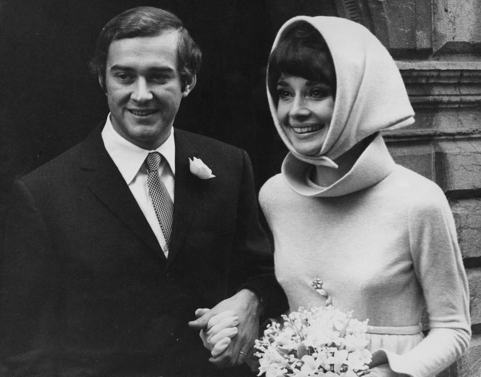 Audrey Hepburn i Andrea Dotti