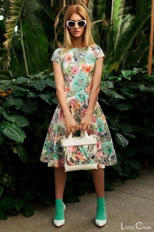 Najpiękniejsze sukienki w kwiaty
